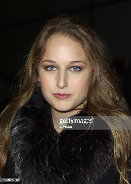 Leelee Sobieski during 'Max' Premiere at the 2002 AFI Film Festival Arrivals at Arclight Theatre in Hollywood California United States