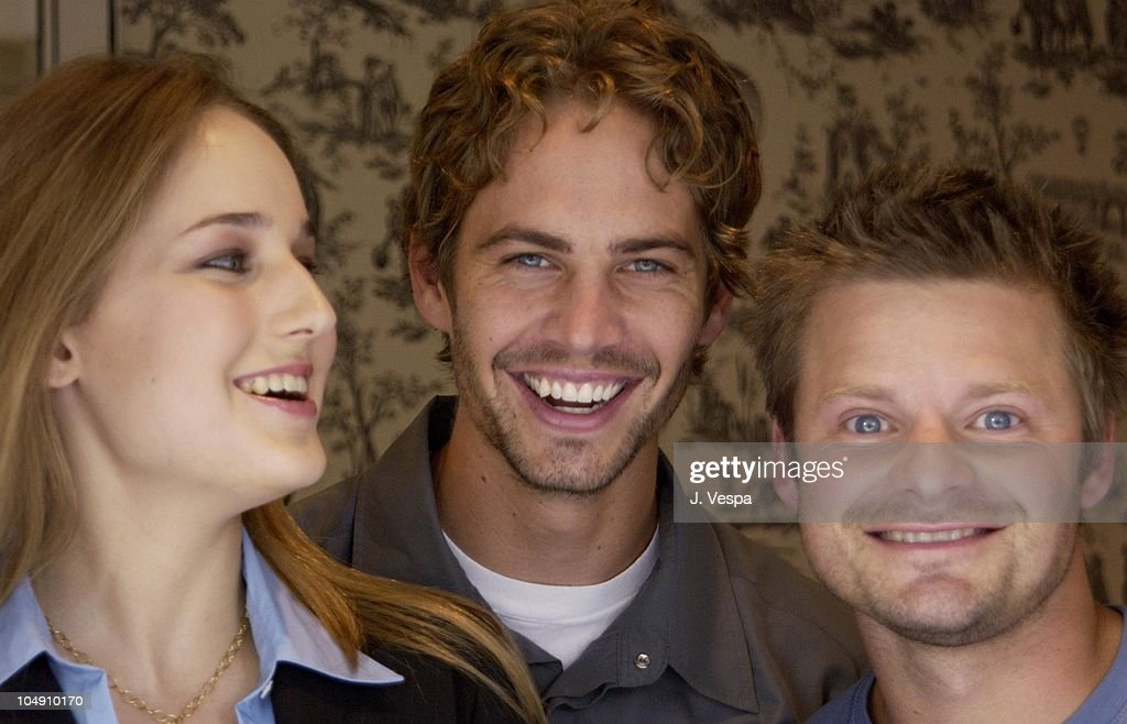Leelee Sobieski Paul Walker Steve Zahn during Toronto 2001 Joy Ride at The Four Seasons in Toronto Canada