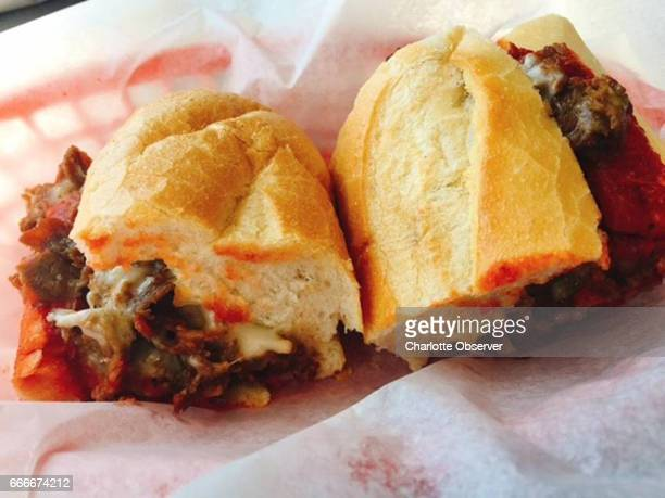 Lee's Hoagie House offers small medium and large cheesesteaks with or without sauce and a choice of cheese