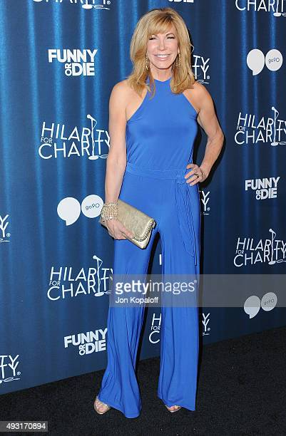 Leeza Gibbons arrives at James Franco's Bar Mitzvah Hilarity For Charity's 4th Annual Variety Show at Hollywood Palladium on October 17 2015 in Los...