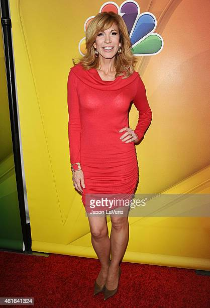 Leeza Gibbons attends the NBCUniversal 2015 press tour at The Langham Huntington Hotel and Spa on January 16 2015 in Pasadena California