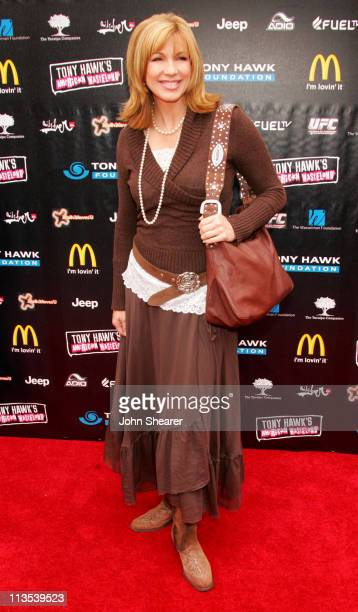 Leeza Gibbons during 'Stand Up For Skateparks' Benefiting the Tony Hawk Foundation at Green Acres Estate in Beverly Hills California United States