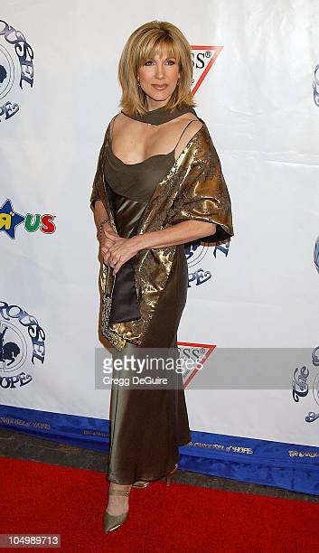 Leeza Gibbons during The 15th Carousel Of Hope Ball Arrivals at Beverly Hilton Hotel in Beverly Hills California United States