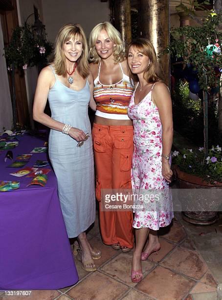 Leeza Gibbons Eloise DeJoria and Jane Seymour during John Anthony DeJoria's 6th Birthday Party at Home of John Paul DeJoria in Malibu California...