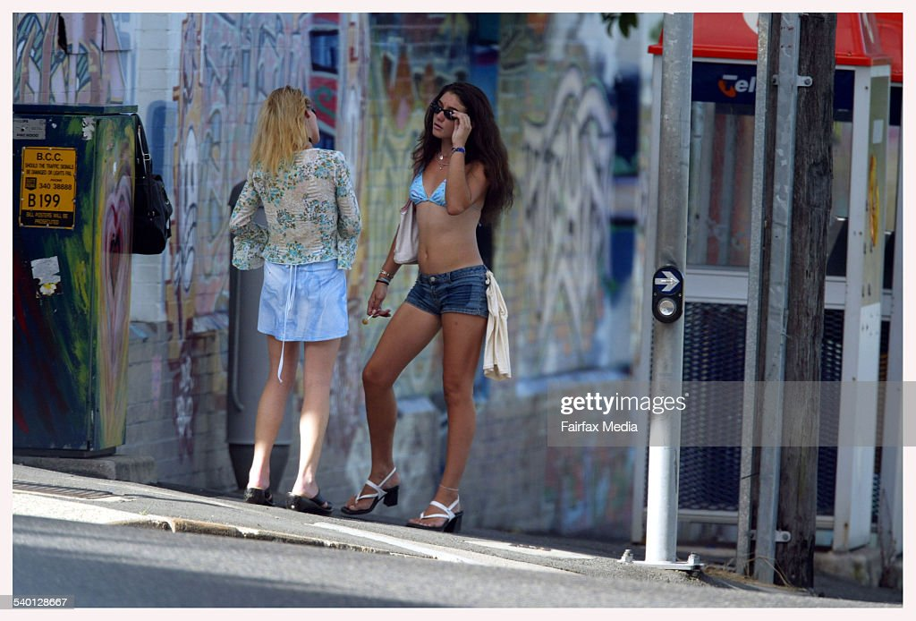 BRISBANEG Left On the streets of Brisbane's inner suburban Fortitude Valley SPECIAL 001 March 4 2003 Picture by Heath Missen Brisbane Bureau SEX...
