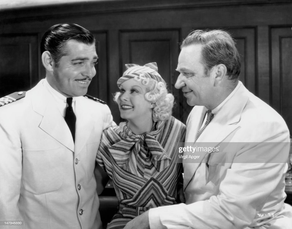 <a gi-track='captionPersonalityLinkClicked' href=/galleries/search?phrase=Clark+Gable&family=editorial&specificpeople=70015 ng-click='$event.stopPropagation()'>Clark Gable</a> (1901 - 1960), <a gi-track='captionPersonalityLinkClicked' href=/galleries/search?phrase=Jean+Harlow&family=editorial&specificpeople=70012 ng-click='$event.stopPropagation()'>Jean Harlow</a> (1911 - 1937) and <a gi-track='captionPersonalityLinkClicked' href=/galleries/search?phrase=Wallace+Beery&family=editorial&specificpeople=209304 ng-click='$event.stopPropagation()'>Wallace Beery</a> (1885 - 1949) as they appear in 'China Seas', directed by Tay Garnett, 20th April 1935.
