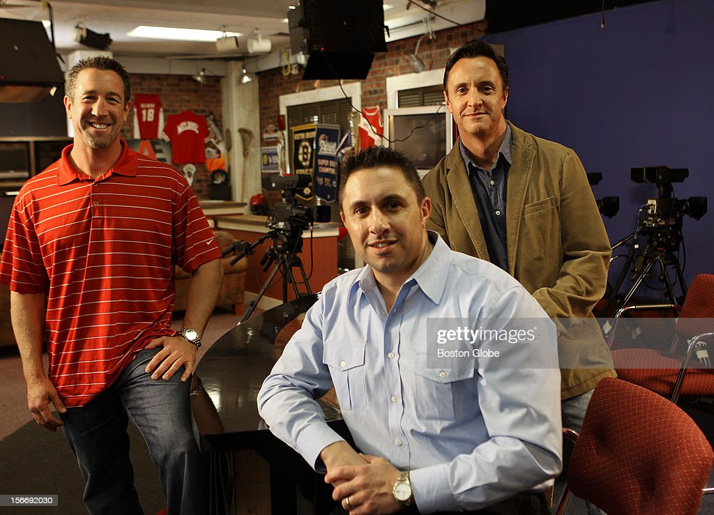 Left to right, Curtis Lanciani, Rob Azevedo and his brother Michael Azevedo all at a television studio. Two Melrose High School graduates and also brothers, have had their film, 'Overdrawn', selected into the 2012 Somewhate North of Boston Film Festival, Nov. 8-11 in Concord, NH. Rob Azevedo wrote and produced the film. His brother, Mike, directed it. A third friend, Curtis Lanciani, also of Melrose, plays the main character. The film, a comedic drama, deals with the fallout of the 2008 financial meltdown, focusing on three individuals who fall prey to the allure of easy credit, getting greedy during the boom years, for a bigger slice of the American Dream, thinking the bubble will never burst. This is Rob's third film entered in the fest. Portions of it were shot in Melrose. Last year's entry, 'Muddy', won 'Best of Fest' and 'Best Short Comedy'.