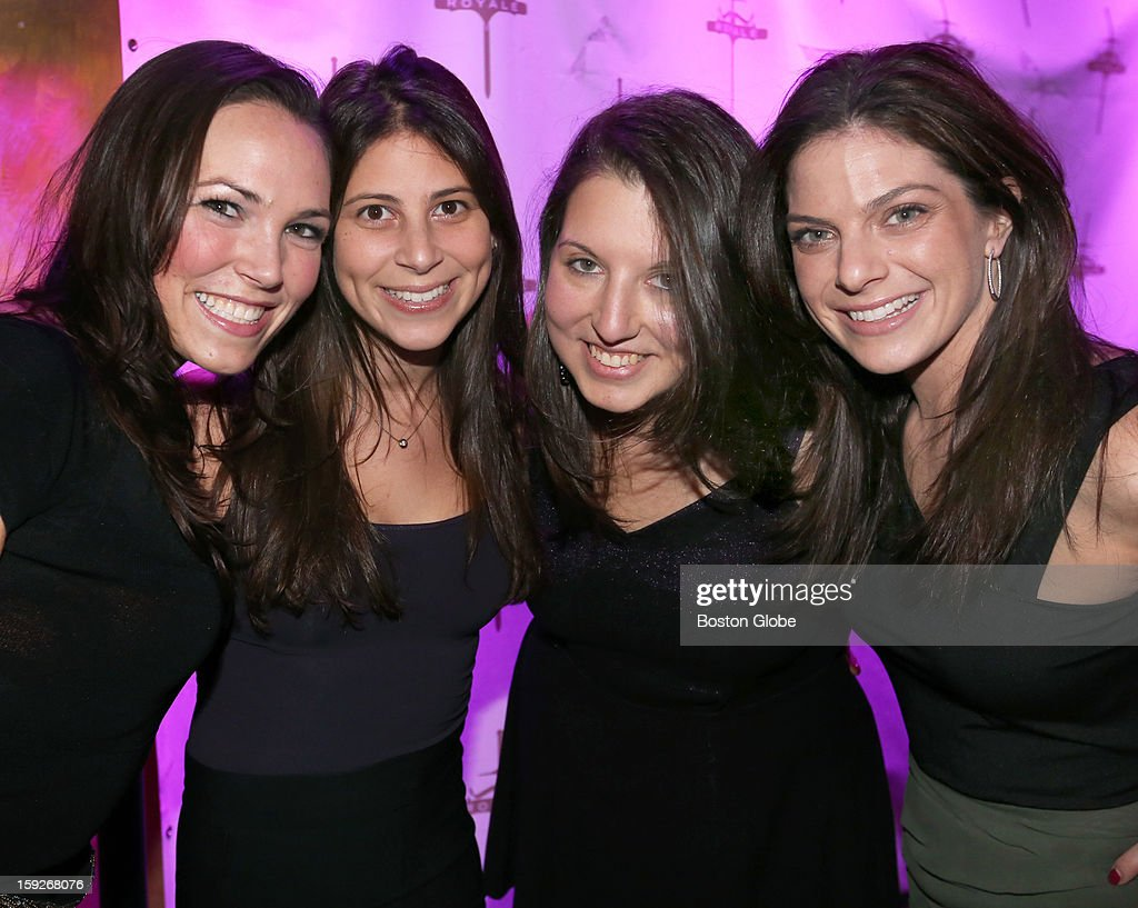 Left to right Diana LeaderCramer of Boston Jennifer Marks of Boston Doroe Rosenberg of Boston and Jamie Golden of Chestnut Hill were among over 800...