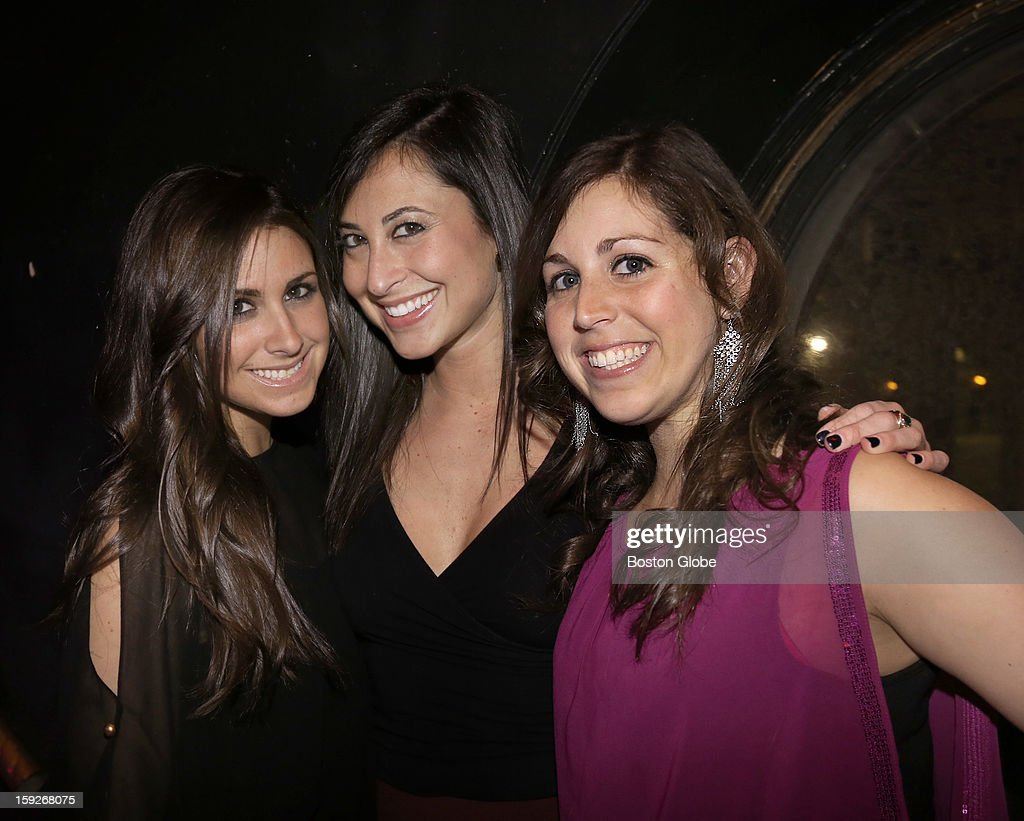 Left to right Donnna Sall of Boston Rachel Colman of Boston and Lisa Sall of Boston were among over 800 guests who attended the Matzo Ball the annual...
