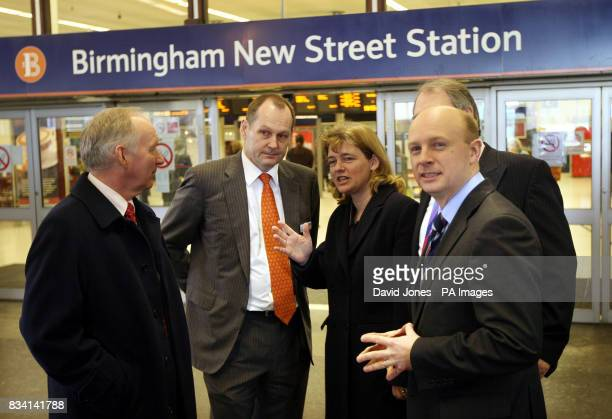 John Edwards of Advantage West Midlands Iain Coucher Chief Executive Network Rail Ruth Kelly MP Secretary of State for Transport Mike Whitby...