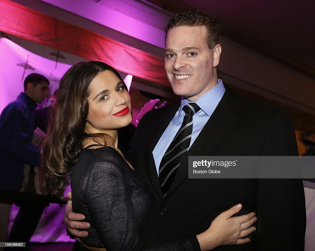 Left to right Sana Aliva of Boston and TJ Green of Natick were among over 800 guests who attended the Matzo Ball the annual bash hosted by the...