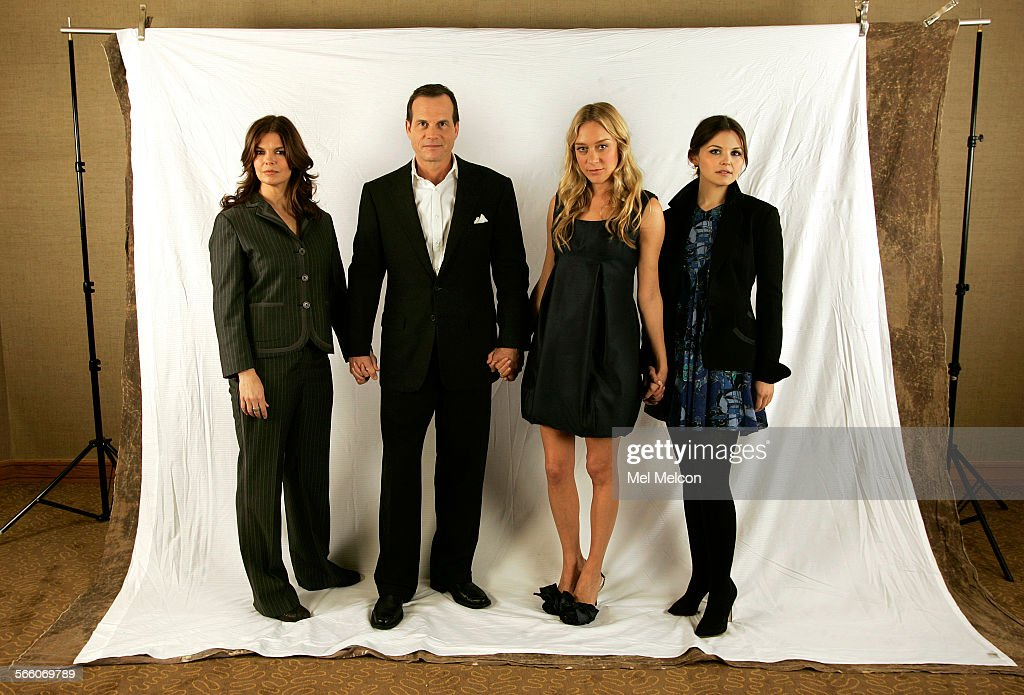 Left to rightJeanne Tripplehorn Bill Paxton Chloe Sevigny and Ginnifer Goodwin the four principle actors from HBO's Big Love a show about a...