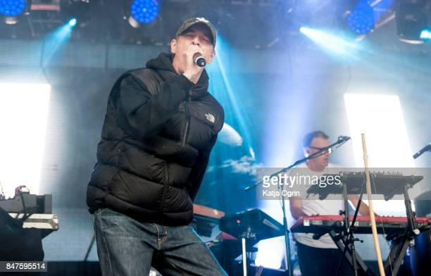 Leftfield performs at Beyond The Tracks Festival on September 15 2017 in Birmingham England