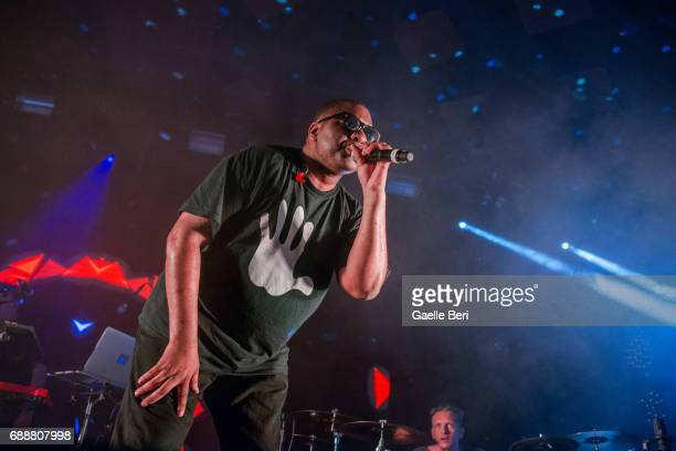Leftfield performs live at the Barrowland Ballroom on May 26 2017 in Glasgow Scotland