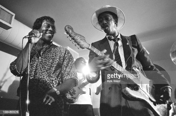 Lefty Dizz and Buddy Guy perform at The Lounge Chicago Illinois 1989
