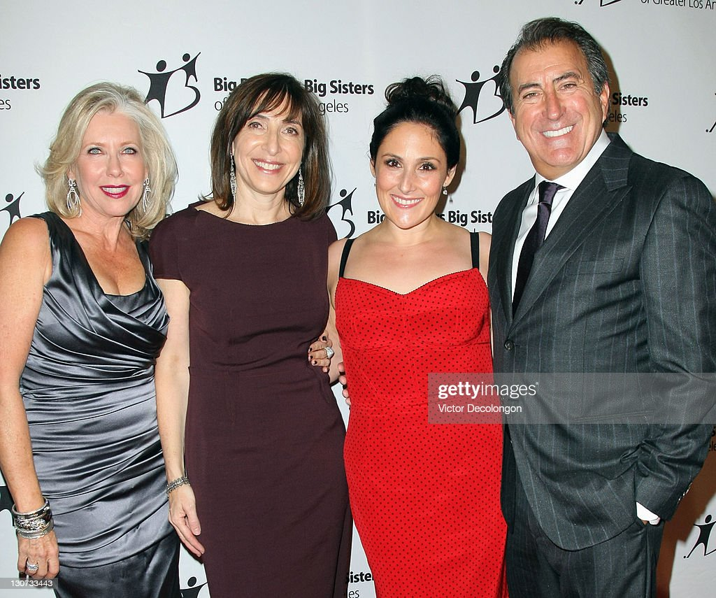 Legacy Award recipient Sandy Bilson, Sherry Lansing Award Honoree Nancy Josephson, Guest Host Ricki Lake and Walt Disney Man of the Year Award recipient Kenny Ortega arrive for The Big Brothers Big Sisters Of Greater Los Angeles' '2011 Rising Stars Gala' at The Beverly Hilton hotel on October 28, 2011 in Beverly Hills, California.