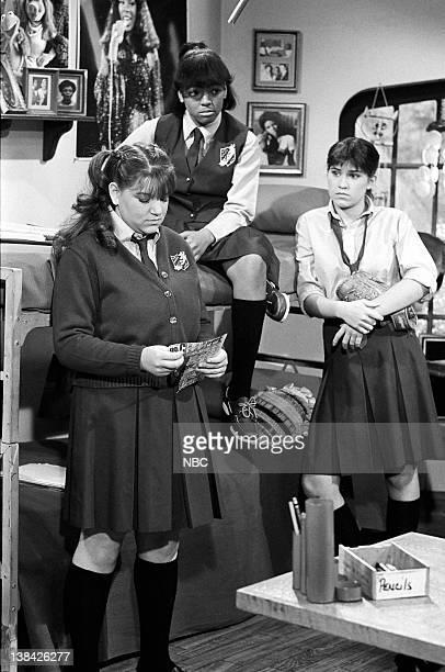 LIFE 'Legacy' Episode 11 Pictured Mindy Cohn as Natalie Green Kim Fields as Dorothy 'Tootie' Ramsey Nancy McKeon as Joanne 'Jo' Polniaczek
