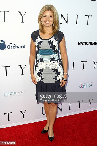 Legal analyst for NBC News Lisa Bloom attends the world premiere screening of documentary 'Unity' held at the DGA Theater on June 24 2015 in Los...