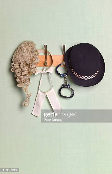 Legal occupation coat rack