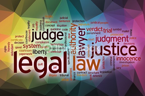 legal word cloud with abstract background stock photo thinkstock