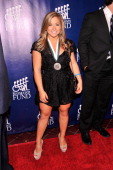 Legend and Olympic gymnast Shawn Johnson attends the 28th Annual Great Sports Legends Dinner to Benefit The Buoniconti Fund To Cure Paralysis at The...