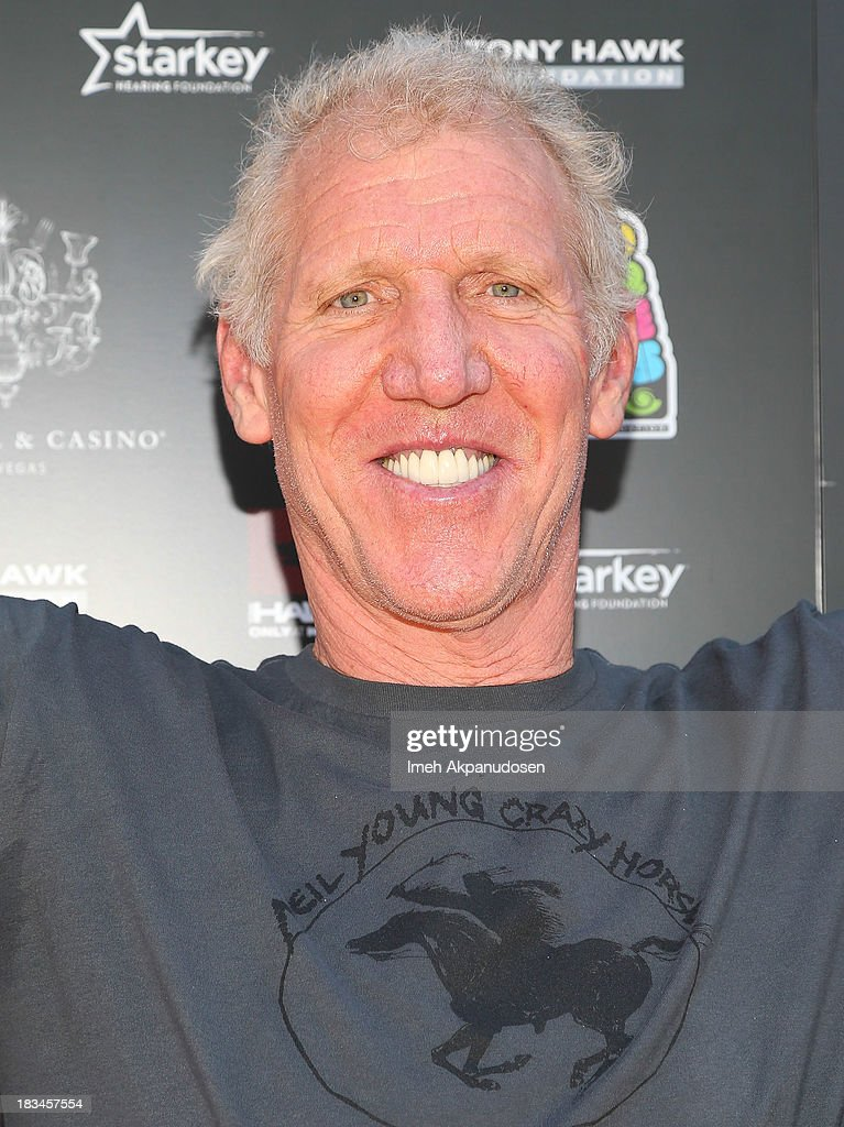 Legend Bill Walton attends the 10th Annual Stand Up For Skateparks Benefiting The Tony Hawk Foundation on October 5, 2013 in Beverly Hills, California.