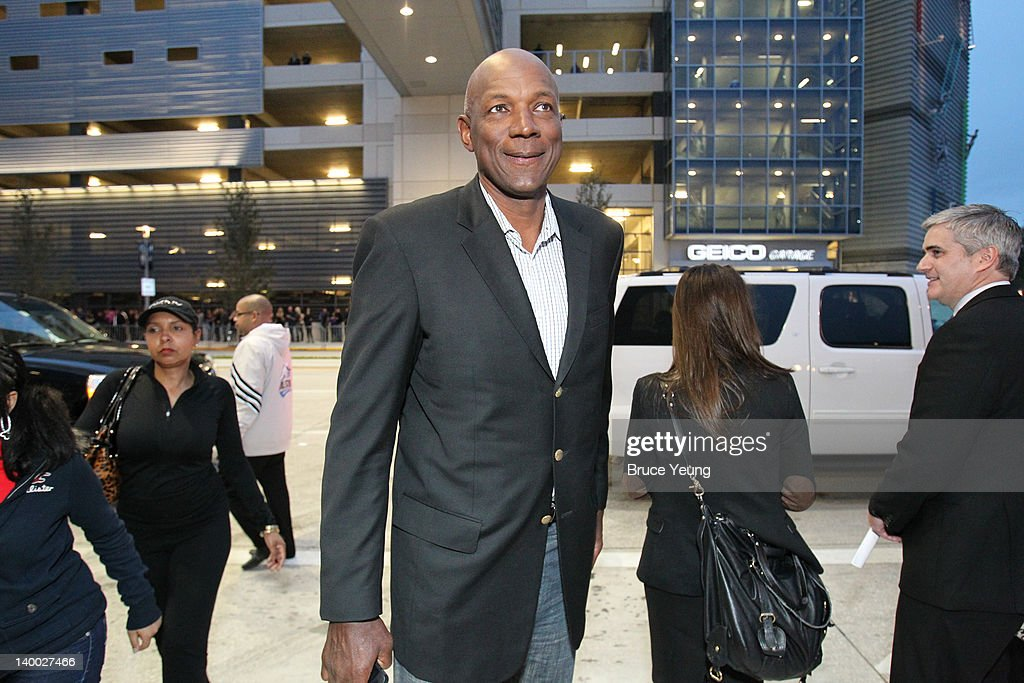 NBA Legend <a gi-track='captionPersonalityLinkClicked' href=/galleries/search?phrase=Clyde+Drexler&family=editorial&specificpeople=208989 ng-click='$event.stopPropagation()'>Clyde Drexler</a> arrives on the red carpet prior to the 2012 NBA All-Star Game presented by Kia Motors as part of 2012 All-Star Weekend at the Amway Center on February 26, 2012 in Orlando, Florida.