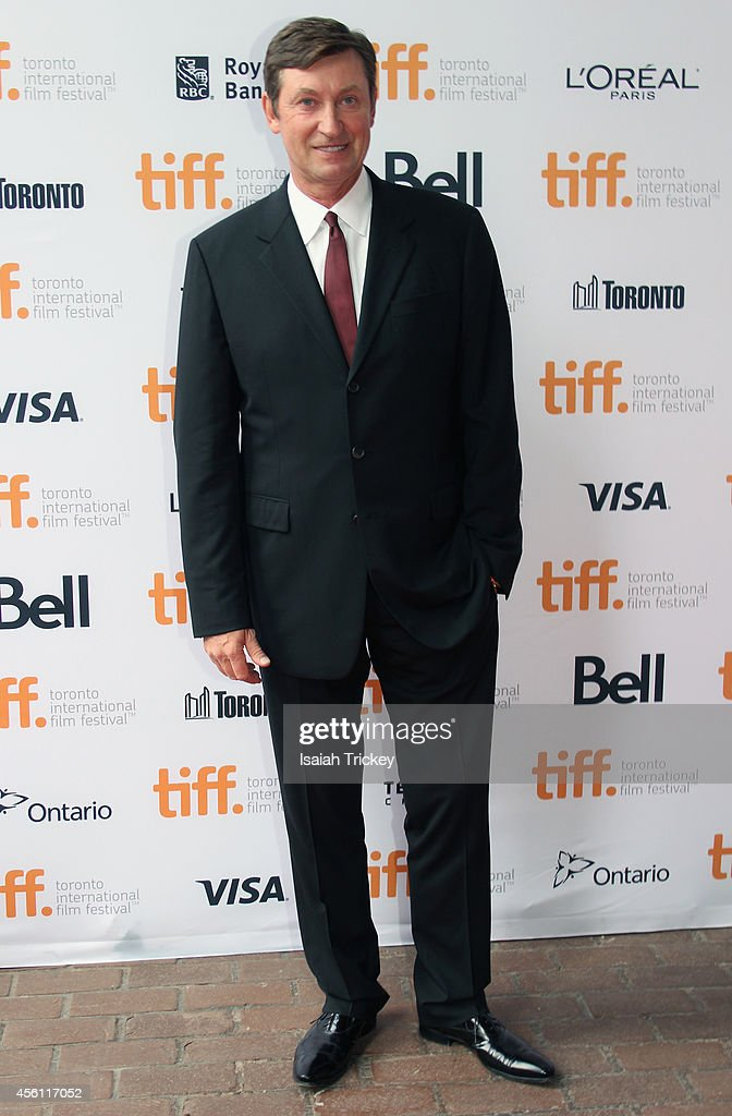 Legend Wayne Gretzky arrives at the 'Red Army' Premiere during the 2014 Toronto International Film Festival held at Ryerson Theatre on September 9...