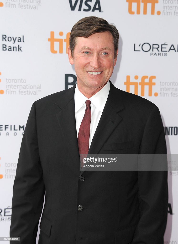 NHL legend Wayne Gretzky attends the 'Red Army' premiere during the 2014 Toronto International Film Festival at Ryerson Theatre on September 9 2014...