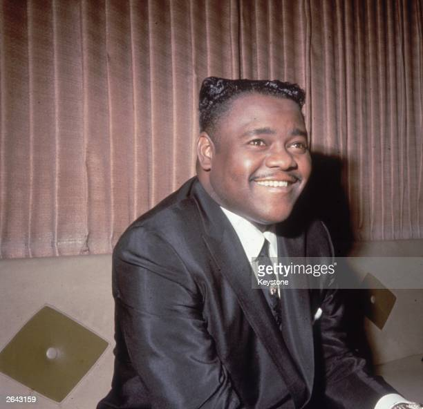 Legendary American jazz pianist and singer Fats Domino