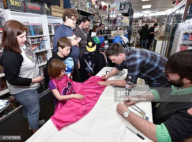 Legendary Batman Writer Scott Snyder Signing For DC Comics Free Comic Book Day Special Issue at Fourth World Comics on May 2 2015 in Smithtown New...