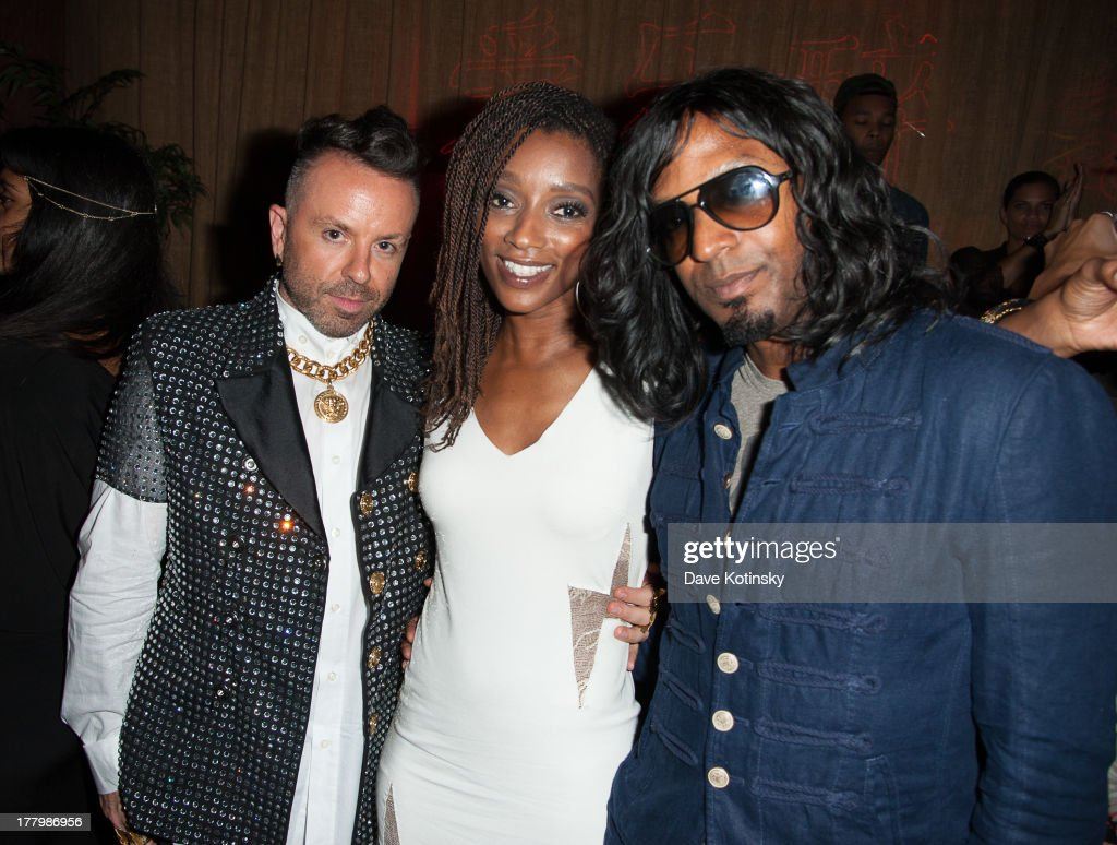 Legendary Damon (L) and Kellindo Parker the MTV VMAs After Party at Mister H on August 25, 2013 in New York City.