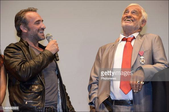 Jean didier dujardin stock photos and pictures getty images for Dujardin belmondo
