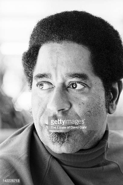 Legendary jazz musician and composer Dizzy Gillespie is photographed at the Newport Jazz Festival in July 1971 in Newport Rhode Island