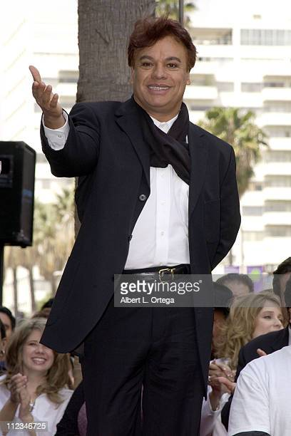Legendary Mexican singer Juan Gabriel receives the 2196th star on the Hollywood Walk of Fame The event culminates his 30th anniversary as an...