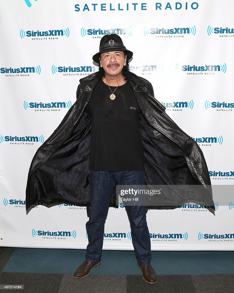Legendary musician <a gi-track='captionPersonalityLinkClicked' href=/galleries/search?phrase=Carlos+Santana+-+Musician&family=editorial&specificpeople=11497837 ng-click='$event.stopPropagation()'>Carlos Santana</a> visits the SiriusXM studios for 'SiriusXM ICONOS with <a gi-track='captionPersonalityLinkClicked' href=/galleries/search?phrase=Carlos+Santana+-+Musician&family=editorial&specificpeople=11497837 ng-click='$event.stopPropagation()'>Carlos Santana</a>' on October 14, 2014 in Washington, DC.
