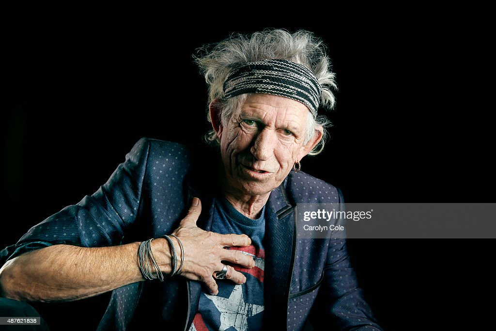 Legendary musician <a gi-track='captionPersonalityLinkClicked' href=/galleries/search?phrase=Keith+Richards+-+Musician&family=editorial&specificpeople=202882 ng-click='$event.stopPropagation()'>Keith Richards</a> is photographed for Los Angeles Times on September 5, 2015 in New York City. PUBLISHED IMAGE.