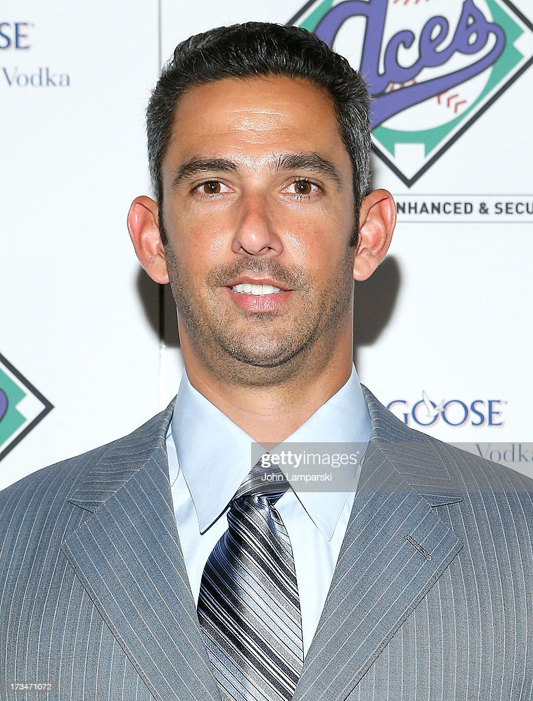 Legendary Yankee <a gi-track='captionPersonalityLinkClicked' href=/galleries/search?phrase=Jorge+Posada&family=editorial&specificpeople=202157 ng-click='$event.stopPropagation()'>Jorge Posada</a> attends ACES Annual All Star Party at Marquee on July 14, 2013 in New York City.