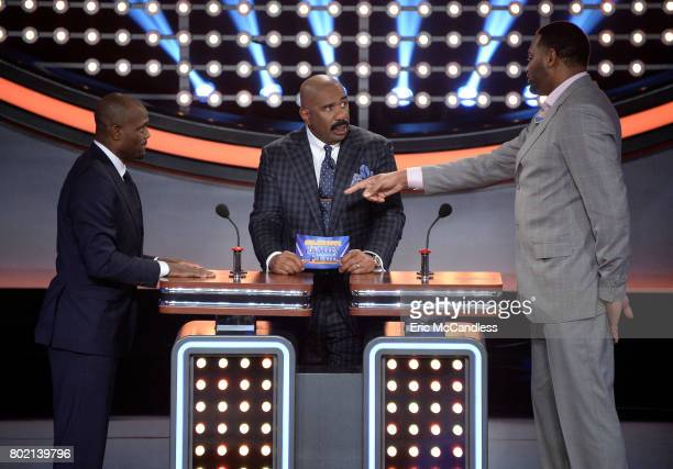 FEUD 'MLB Legends vs NBA Legends and NFL AllStars vs NFL Legends' The celebrity teams competing to win cash for their charities will feature...