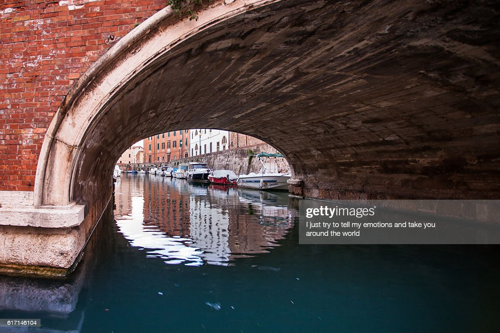 Leghorn, Disctrict of Venice, Tuscany : Stock Photo