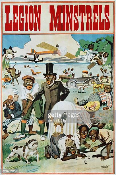 Legion Minstrels Poster