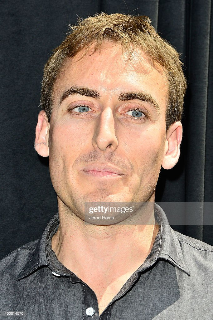 Lego builder Ryan Ziegelbauer attends the Unveiling of 'Grand Budapest Hotel' Made of 50,000 Lego bricks in celebration of the DVD/Blu-Ray release at The Grove on June 14, 2014 in Los Angeles, California.