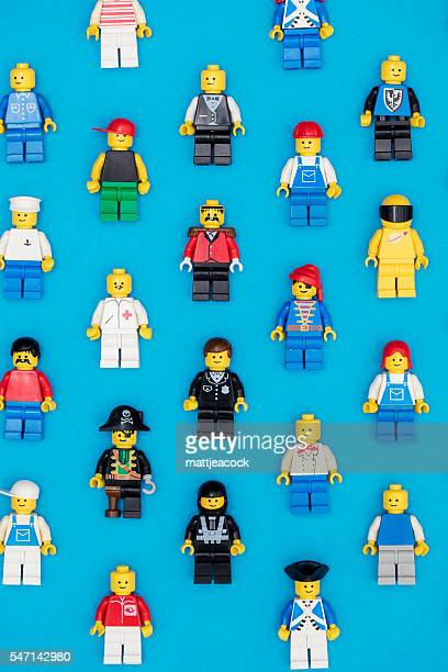 Lego figures background