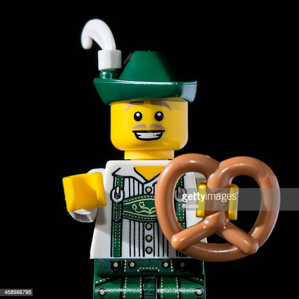 Lego Minifigures Series 8 figurine: Lederhosen Guy