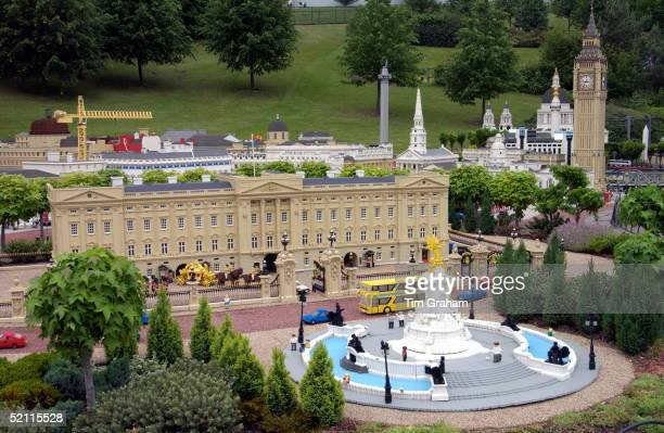 Lego Replica Of Buckingham Palace And Big Ben The Queen And Her Husband Are Spending The Day Touring London And Windsor To Promote Tourism In Britain...