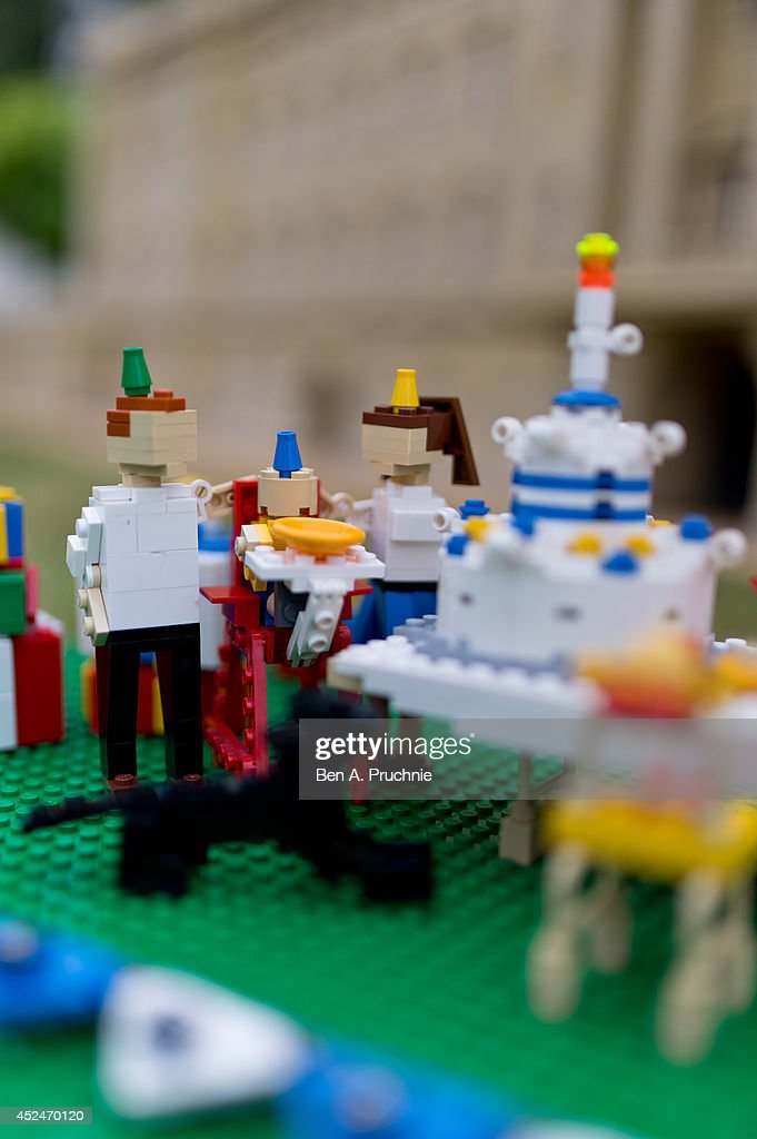 Legoland Windsor host a 1st birthday party for Prince George of Cambridge at LEGOLAND Windsor on July 21, 2014 in Windsor, England.