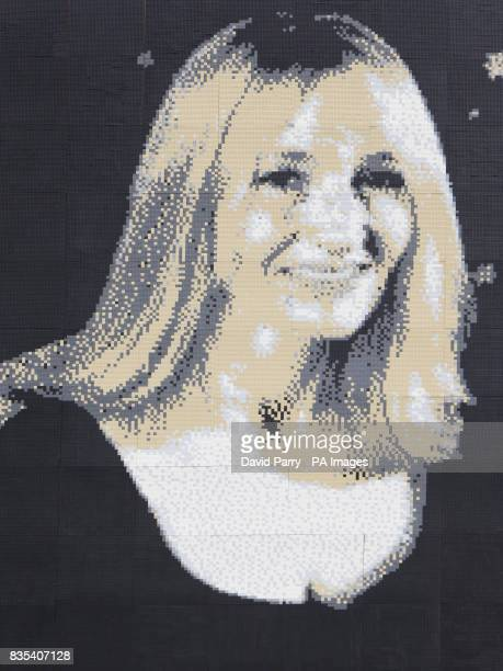 Legoland Windsor invited children to create a giant Lego mosaic of JK Rowling who topped a poll to find their ultimate hero from the past 10 years