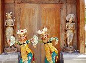 Legong Keraton dancers, Bali, Indonesia