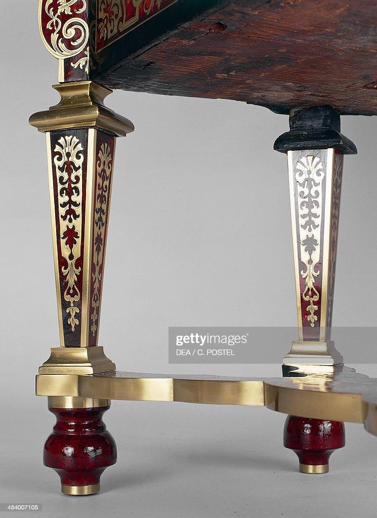 Louis XIV style bureau Mazarin writing desk Pictures Getty Images