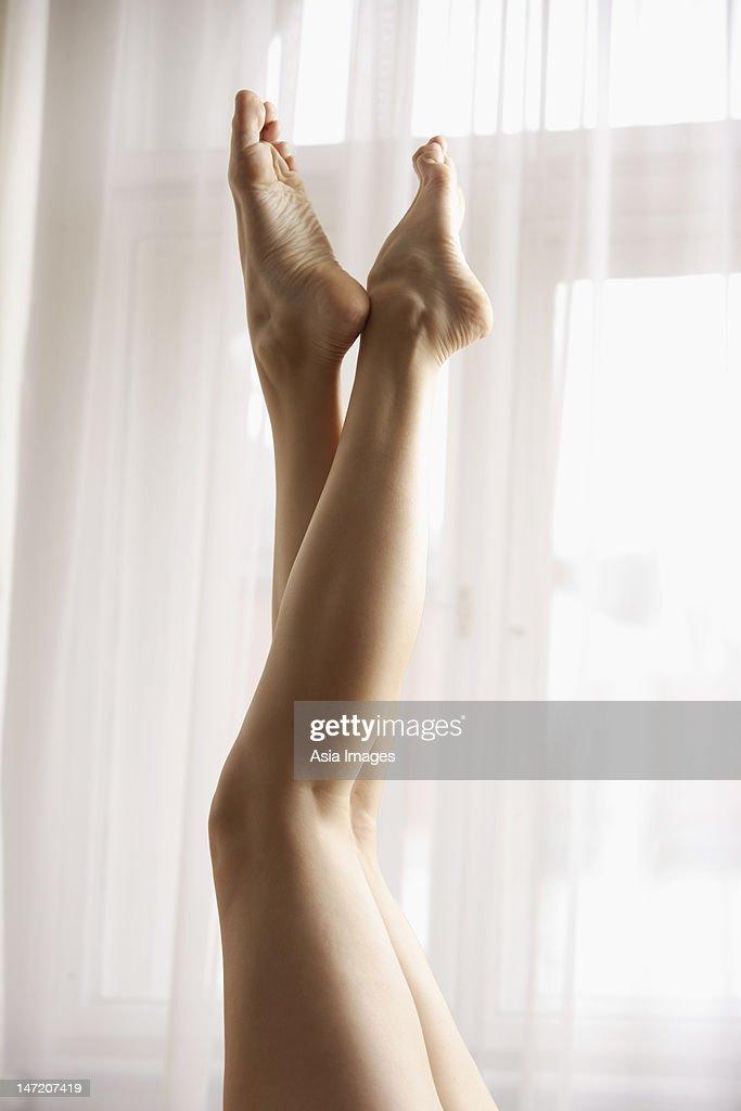 Legs of female